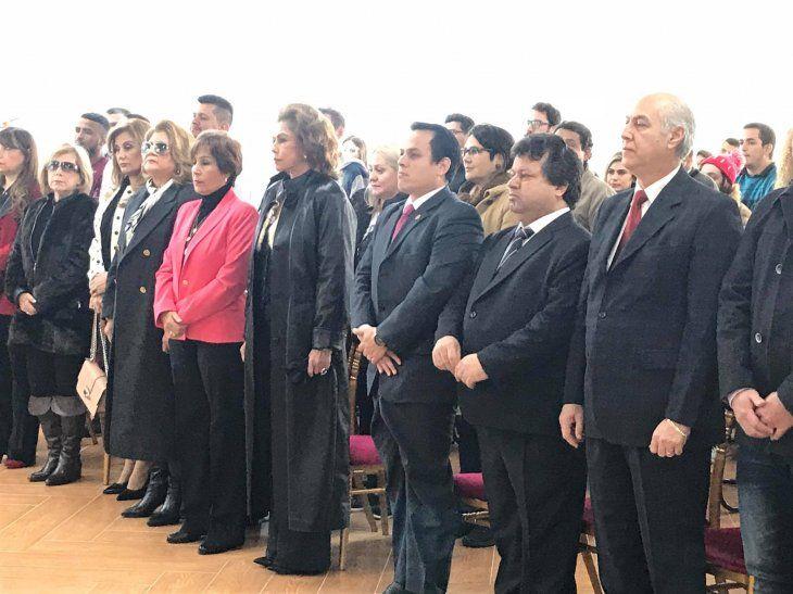 Mamá de Marito Abdo inauguró universidad