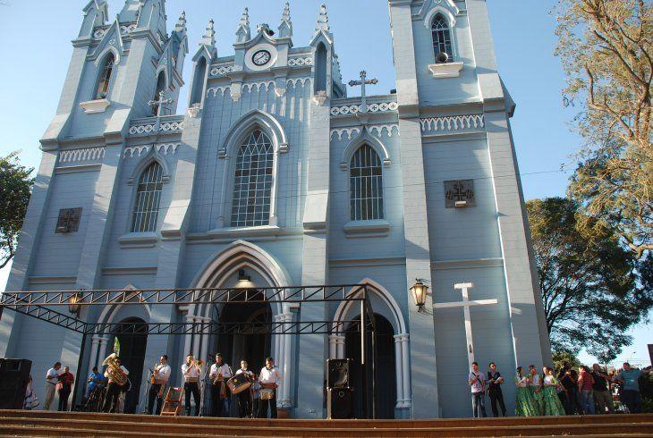 La Orquesta de Instrumentos Reciclados de Cateura dio un concierto en la Catedral de San Lorenzo.
