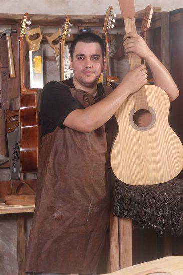 Artista. Cayetano ganó varios concursos de proyectos culturales a nivel nacional