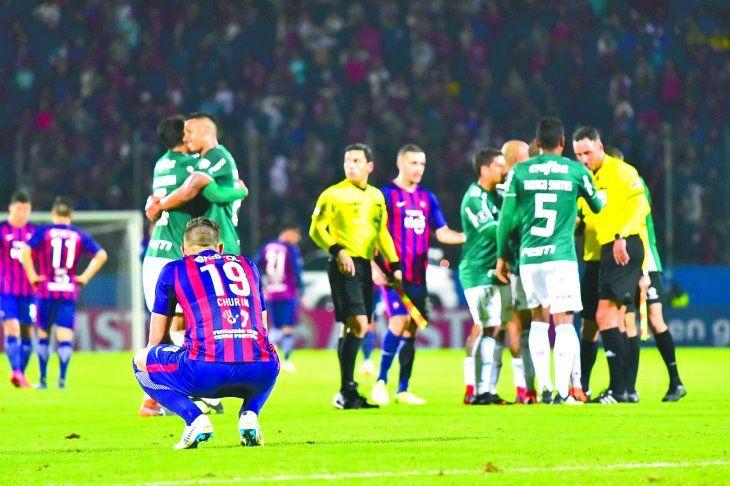 Cerro Porteño no le hizo ni cosquillas a Palmeiras y la desazón fue total.