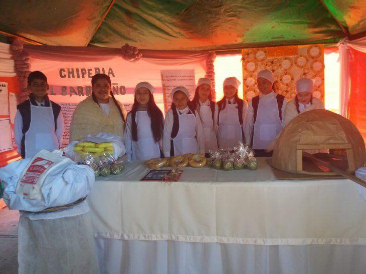 Niños presentaron el Congreso del Chipá.