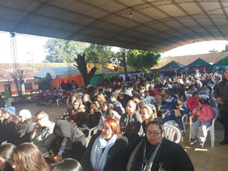 Pobladores de Barrero celebraron el Día de la Chipa
