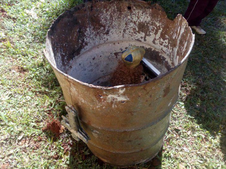 Dejan a la Virgen de Caacupé en un tambor con raro ritual