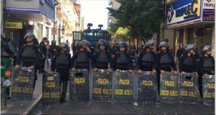 Policía anuncia que habrán estrictos controles durante la asunción del nuevo presidente.