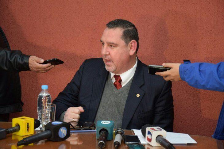 Senador Nacional Javier Zacarías Irún (ANR-HC).