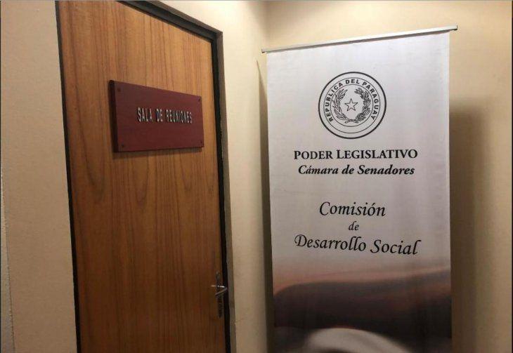 Óscar González Daher se encerró en una de las oficinas para no hablar a la prensa.