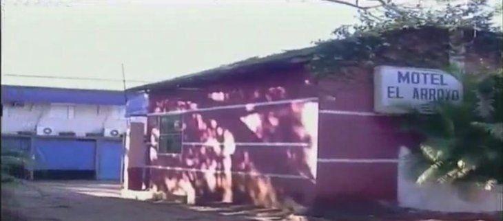 El local asaltado está en el barrio Carmelitas de Ciudad del Este (Foto: captura de video de C9N).
