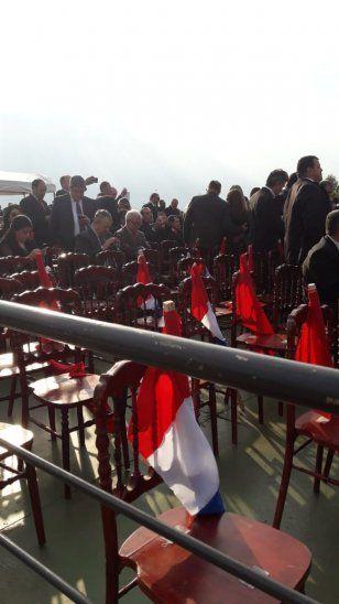 Denunciaron que se colocaron banderas coloradas en el litoral.