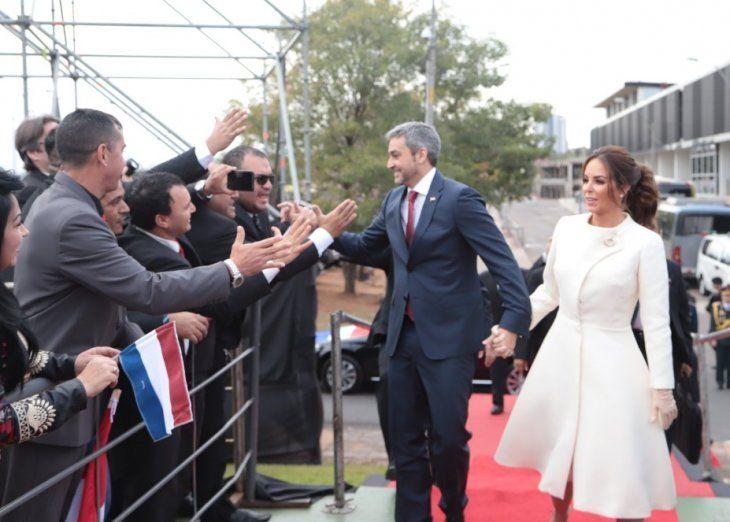 Marito juró como Presidente del Paraguay