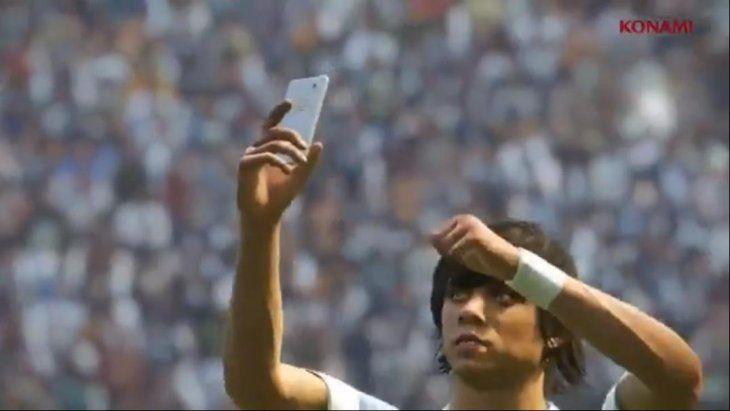 Si mete un gol festejará con la selfie.