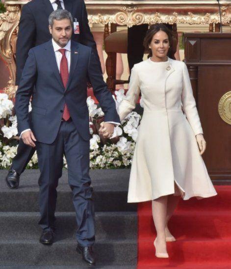 Silvana López Moreira demostró en todo momento ser conocedora de las reglas del ceremonial y el protocolo.