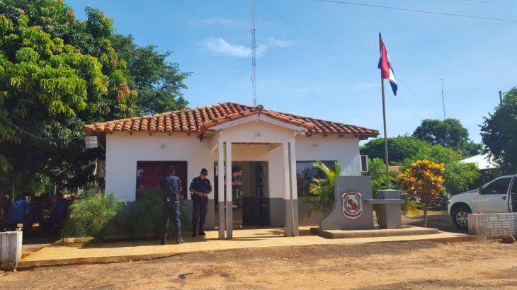 Místico encuentro: El guardia de la estancia dejó constancia de lo ocurrido en la Subcomisaría 19 Aguae de Curuguaty.