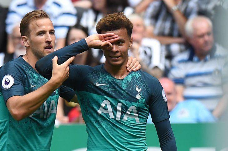 El crack creador. El futbolista del Tottenham