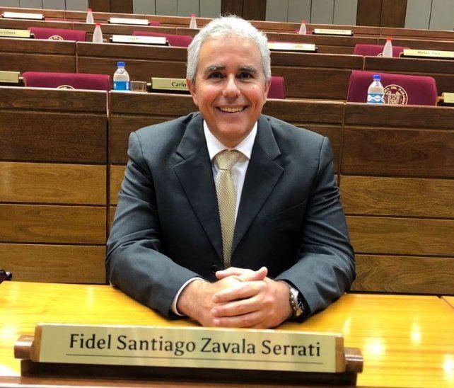 Mina Feliciangeli piropeó a Fidel Zavala