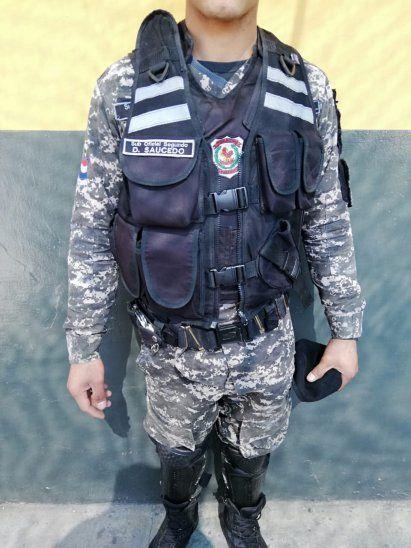 Chaleco. A partir de ahora tendrá el nombre del uniformado.