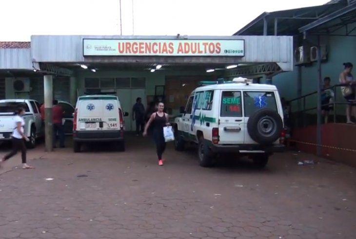 Hospital Regional de Encarnación.