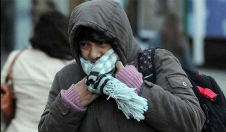 Temperaturas fría irán de entre 3° a 5 °.