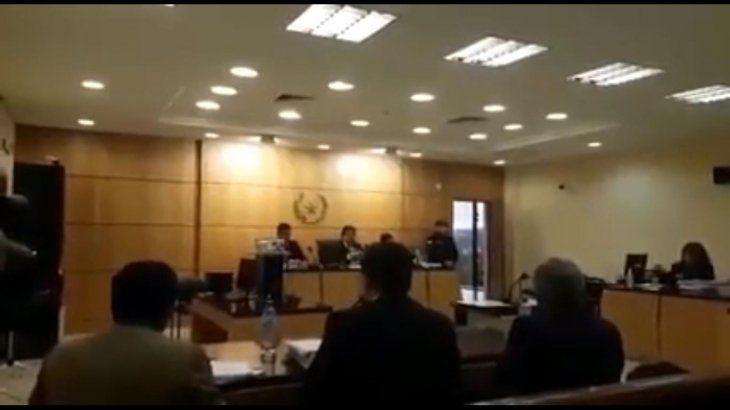 Leyeron ayer la condena al sacerdote Félix Miranda Gamarra (captura de video: Más Encarnación).