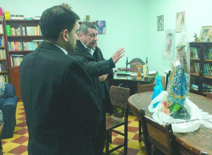 Desde hoy la Virgencita de Caacupé nos acompaña en la Secretaría Nacional de la Juventud