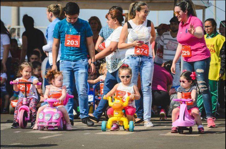 Cada vez hay más participantes en el evento. El año pasado se anotaron 550 niños y ahora esperan a más de 600.