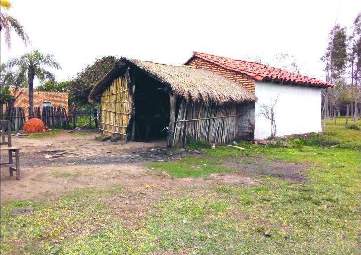 Desaparición: Esta es la casa en la que Fretes mantenía a sus dos concubinas y a cinco hijos menores