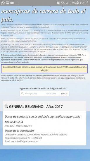 Paloma mensajera voló de Buenos Aires a Ñeembucú