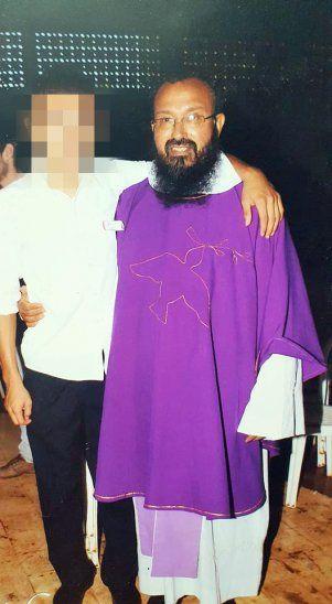 El padre Félix Miranda Gamarra logró evitar la cárcel (Foto de su cuenta en Facebook).