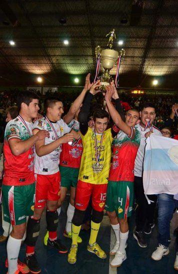 Salud. Ignaciana se quedó con el Nacional C20 de Fútbol de Salón.