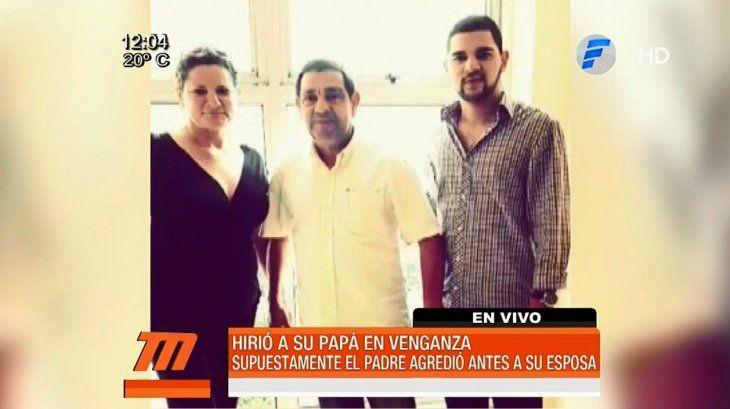 Funcionario del Inder hirió a su esposa y su hijo se vengó