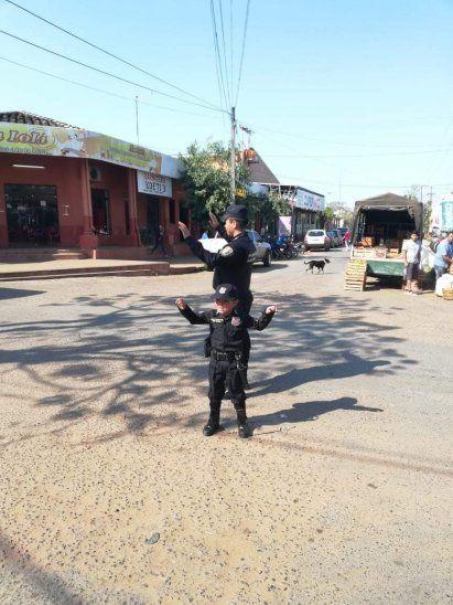 El policía Edgar Ibarra