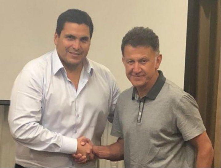 Juan Carlos Osorio y Robert Harrison