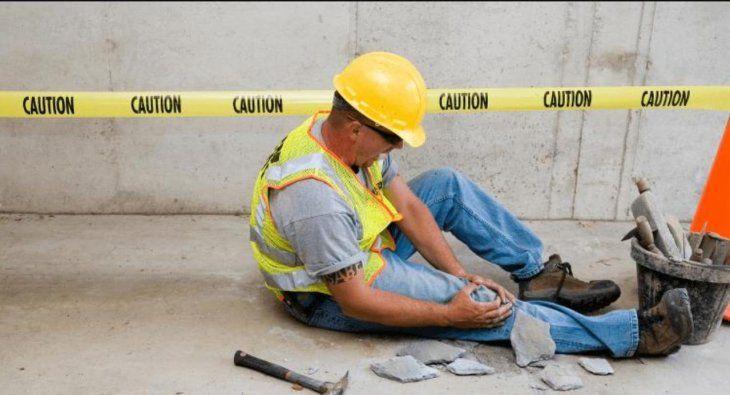 Lastimados: Los hombres son los que más sufren los accidentes de trabajo. La parte más afectadas son los brazos