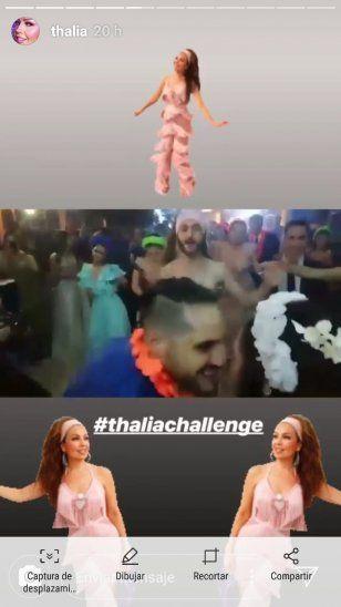 Thalía, encantada con un paraguayo