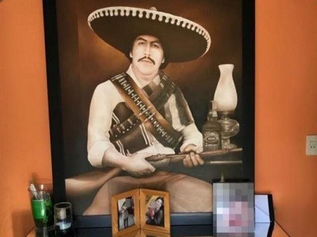 La pintura de Pablo Escobar