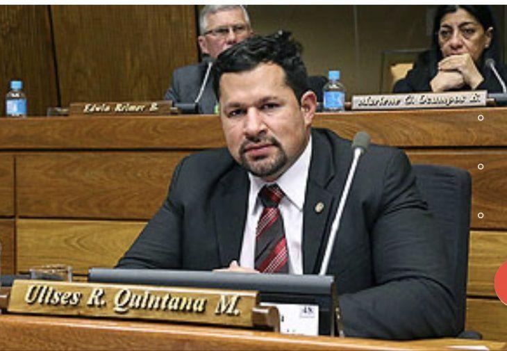 Diputado Ulises Quintana