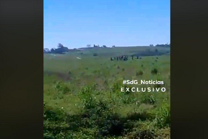 Se escucharon varios disparos en la comunidad Takuarai Marilú.