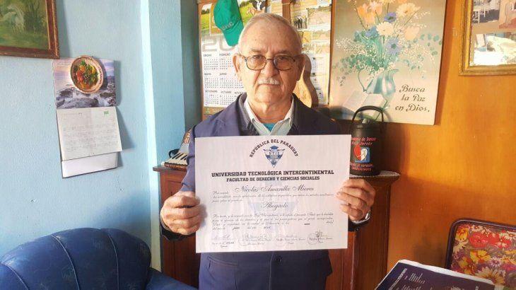 Feliz: Don Nicolás Amarilla