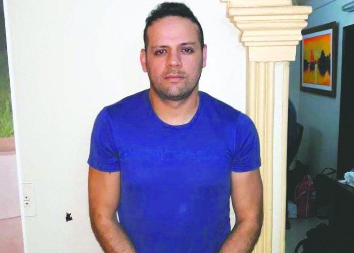 Javier Cucho Cabaña está detenido.