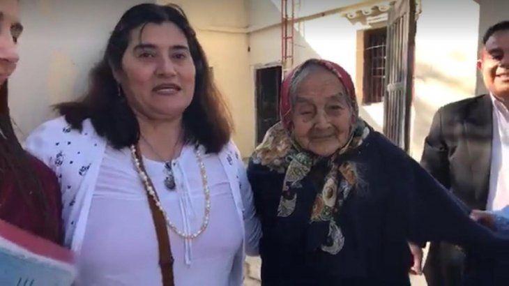 Doña Josefa Benítez llegó a nuestro país con su hija Blásida desde Tatané