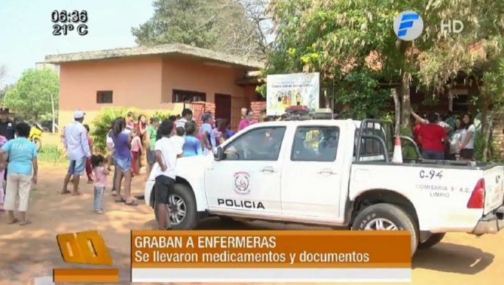 Grabaron a enfermeras robando medicamentos en un puesto de salud
