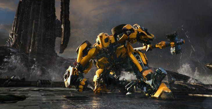Robot Transformers se pasea por China
