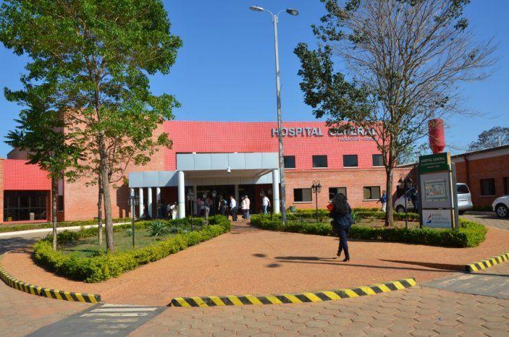La madre acudió al Hospital General de Santa Rosa del Aguaray con la esperanza de ser mejor atendida