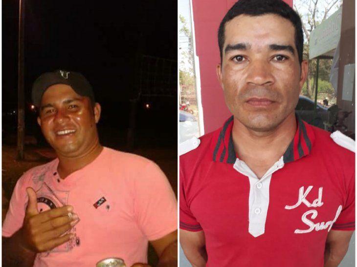 Patricia Ramírez dijo que Luis Colmán (der.) no le reprochó nada