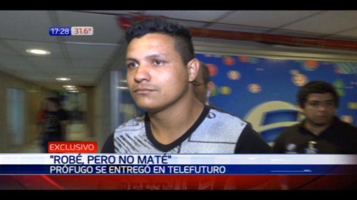 Marco Antonio Sanabria dijo que se entregaba porque le remordió la conciencia por la muerte de su amigo.