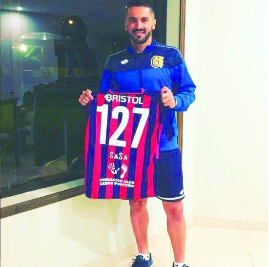 Santiago Salcedo reconoció que quiere volver. Está un poco grande