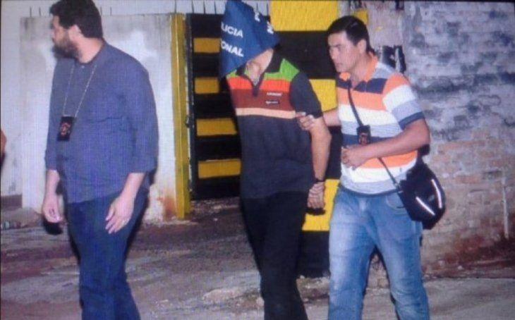 Bruno Marabel fue atrapado cuando intentaba huir.