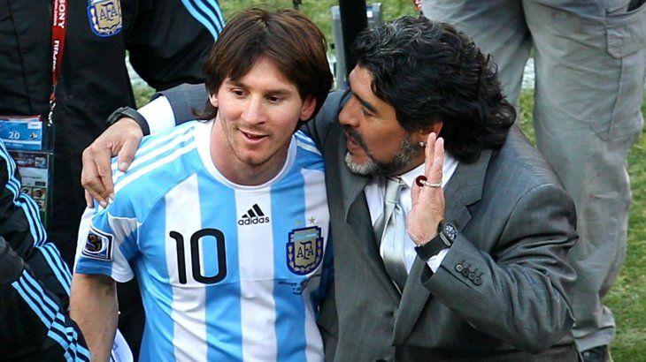 Diego insiste en que Messi no es un líder nato.