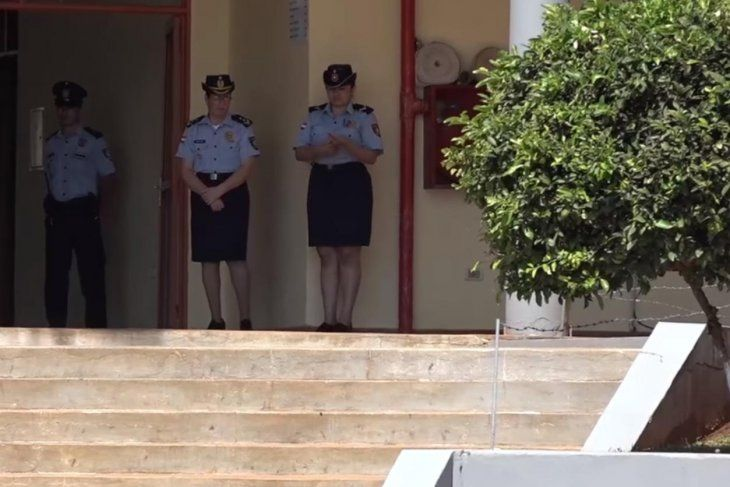 Preocupados. Por la poca presencia femenina en filas policiales.