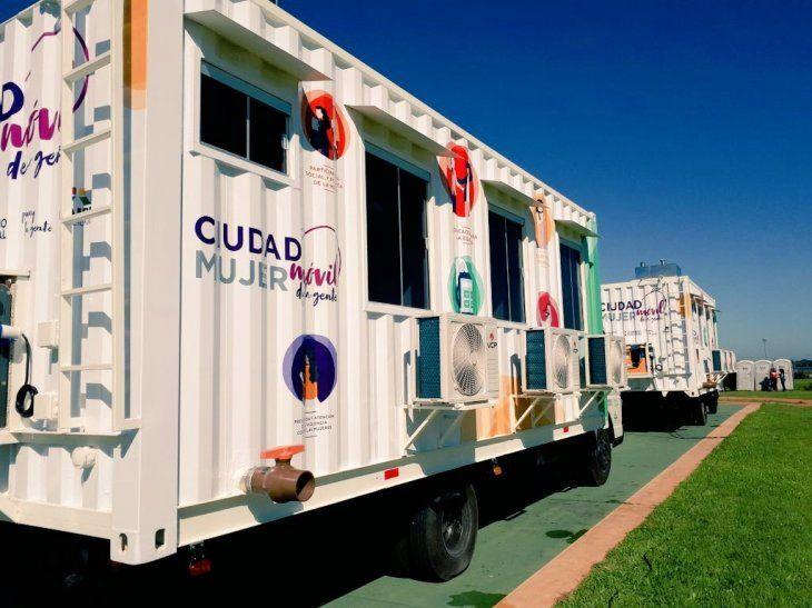 Camiones recorrerán con varios servicios.