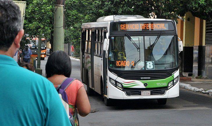 La nueva tarifa del pasaje entrará a regir desde la medianoche.